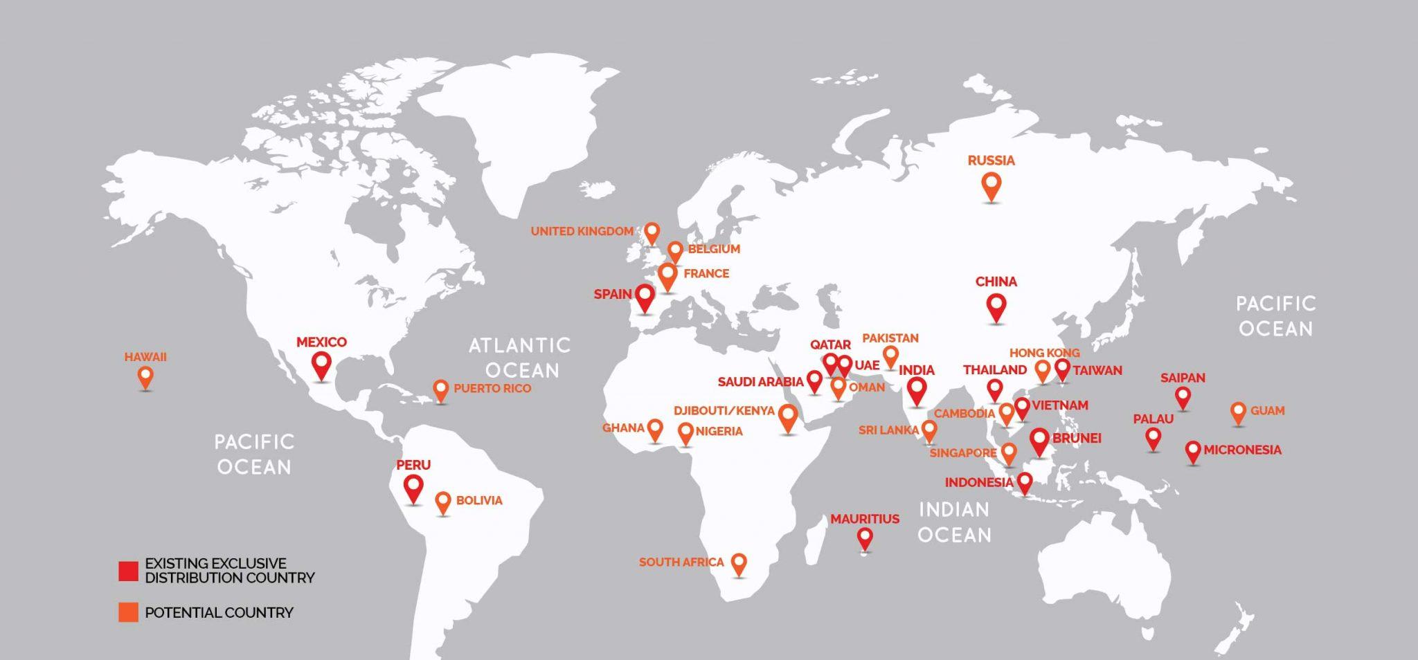 KEKO export Country