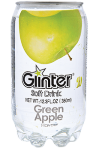 Glinter Soft Drink Green Apple