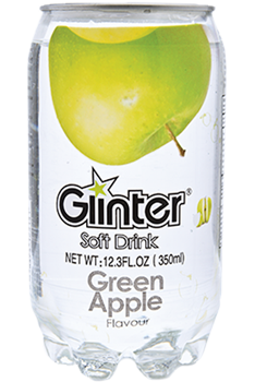 Glinter Soft Drink Green Apple