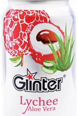 Glinter Fruit Drink Lychee Aloe Vera