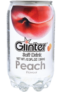 Glinter Soft Drink Peach