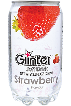 Glinter Soft Drink Strawberry